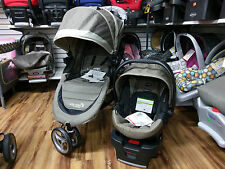 Baby Jogger 2016 City Mini Travel System Sand w/ Stroller & Britax B-Safe 35 New
