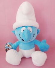 42cm Clumsy Smurf The Smurfs Movie Cute Soft Stuffed Plush Doll Kid Gift Toy