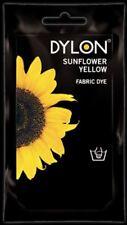 Dylon Fabric & Clothes Dye Sunflower Yellow Hand wash 50g / 1.75oz