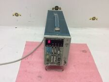 Tektronix Tm 501 Power Module Dc509 Universal Counter Timer Test Equipment