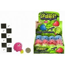 12 x Hedgehog Slime Snot Monsters Fun Gross Ideal Party/Loot Bag 3+ TY7403