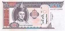 Mongolia 100 Tugrik 2008 Unc pn 65b