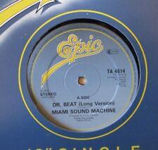 "MIAMI SOUND MACHINE - Dr Beat ~ 12"" Single"
