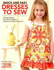 Quick and Easy Dresses to Sew by Leisure Arts (2012, Paperback)