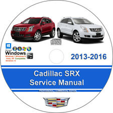 Cadillac SRX 2013 2014 2015 2016 Factory Workshop Service Repair Manual on CD