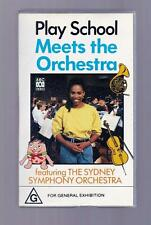 Play School: Meets the Orchestra  - 1992  - VHS