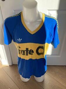 Boca Juniors Football Shirt 1986 XL Classic Soccer Jersey Argentina Vintage
