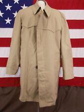 London Fog Coat/Jacket Faux Fur Fully Lined Winter Khaki Men's Size 40 Regular