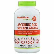 NutriBiotic  Immunity  Ascorbic Acid with Bioflavonoids  Crystalline Powder  16