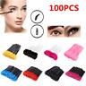 100x Disposable Eyelash Mascara Brushes Lash Wands Extension Applicator Spoolers