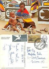 South Africa RSA . Tribal Life - Ndebele mother and child (A-L 607)
