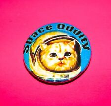 DAVID BOWIE SPACE CAT SPACE ODDITY INSPIRED BUTTON PIN BADGE