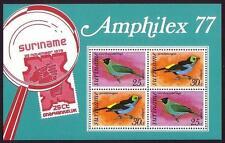Block Surinamese Stamps