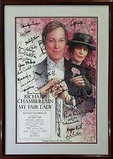 Autographed My Fair Lady Richard Chamberlain Melissa Errico Dolores Sutton