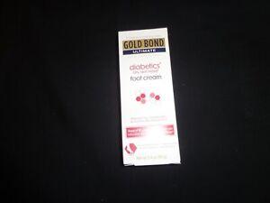 gold bond ultimate diabetic's dry skin relief foot cream