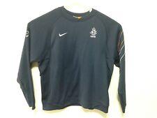 H368 Nike Voetbal Men Size XL Netherlands Holland Dutch Soccer Navy Sweatshirt
