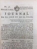 Journal Royaliste 1791 Du Rumain Jacobin Meude-Monpas Révolution Française