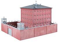 NEW ! HO Faller FIVE STOREY BRICK JAIL / PRISON : Model Building KIT # 130808