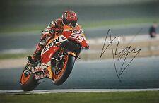 Marc Marquez signed Moto GP 12x8 photo Image Q UACC Registered Dealer