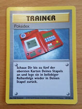 Pokemon Karte Trainer Pokedex Nr. 87/102 Basis Deutsch NM