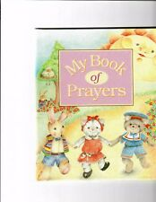 Personalized Children's Book My Book of Prayers Catholic or Non Denominational