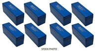 LOT OF EIGHT(8) - PCGS Slab Boxes  - Used - Coin Slab Storage - Blue PCGS Box