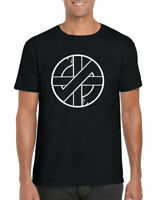 CRASS SYMBOL T-Shirt, Punk Rock Logo Anarchy Anarchist Music Unisex Adults Top