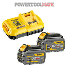 Dewalt DCB546 18V/54V 6.0Ah FLEXVOLT Battery Twin Pack & DCB118 Charger Bundle