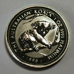 1996 $100 Australia 1 oz .9995 Fine Platinum Koala Coin, Only 23,761 Minted!