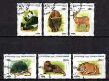 Cambodge 1999 animaux sauvages (45) Yvert n° 1689 à 1694 oblitéré used