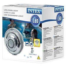 Intex Luce Lampada led Idroelettrica Attacchi mm32 Illuminazione Piscina Piscine
