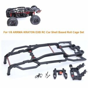 Roll Cage Frame Cage Shell Based for 1/8 ARRMA KRATON EXB RC Car Upgrade Parts