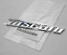Genuine Tuscani Lettering Logo Decal Emblem 1pcs For Hyundai Tiburon Coupe