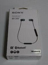 Sony WI-C300 - schwarz - kabelloser In-Ear Kopfhörer - NFC + Bluetooth Neu & OVP