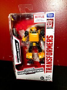 Netflix War for Cybertron Deluxe-Class Bumblebee Hasbro Transformers