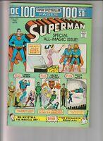Superman 272 VF (8.0) 2/74 100 Page Super Spectacular issue! 2nd Mr Mxyztplk