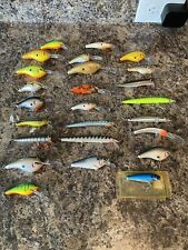 Vintage Bagley Baley's Collection Lot Fishing Lures Crankbaits Nice Look