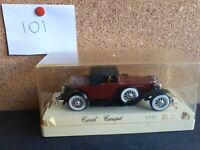 "Vintage Solido Age d'or ""CORD COUPE"" Diecast model 4080. Scale 1:43."