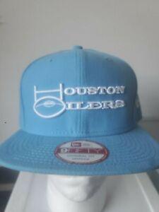 Houston Oilers Retro New Era Snapback Hat