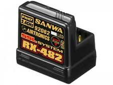 Sanwa RX-482 Receiver 4 channel 2.4GHz Free ship NIB
