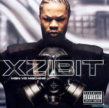 XZIBIT Man Vs Machine CD BRAND NEW Single Disc Version