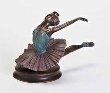Kneeling Ballerina Bronze Toned by Roman, Inc. Sku 68317