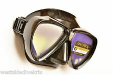 AQA/GULL MANTIS LV Elite Scuba Dive Mask w/anti-UV Lenses