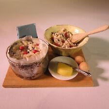 Fruit Gâteau ingrédients de boulangerie à bord ~ ~ alimentaire Dollhouse Miniature Échelle 12