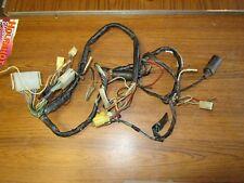 SUZUKI GS550 77-79 wiring loom. Early Points Type.