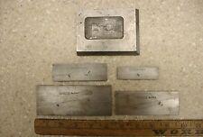 New Listing4 Vintage Ls Starrett No154 Adjustable Parallelsset C Fxlint Cond Amp Bonus