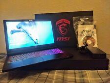 "MSI GS63VR Stealth Pro 15.6"" Gaming Laptop i7-6700HQ GTX1060 16GB RAM, 368GB SSD"