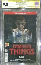 Stranger Things Six #4 photo variant__CGC 9.8 SS__Signed by Millie Bobby Brown