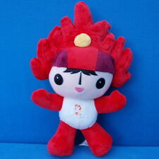 PEKING 2008 OLYMPIA MASKOTTCHEN HUANHUAN FIGUR 25 CM ROT PUPPE DOLL