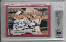 CHARLIE SHEEN Signed 1988 Pacific EIGHT MEN OUT Baseball CARD #55 White Sox BAS